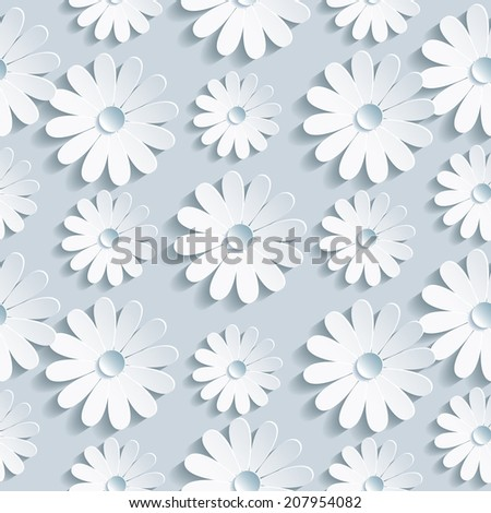 Flower wallpaper pattern creative picturesque illustrations www beautiful background seamless pattern grey with white flower chamomile floral trendy creative wallpaper jpg 450x470 flower mightylinksfo
