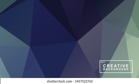 beautiful background template, polygonal style with gradation colour