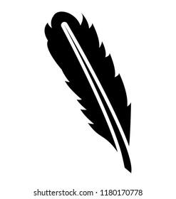 beautiful bird feather, plumage