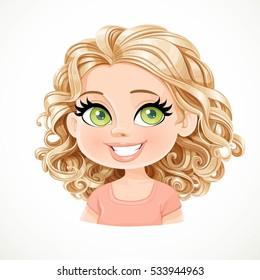 Blonde Cartoon Girl Images, Stock Photos & Vectors | Shutterstock