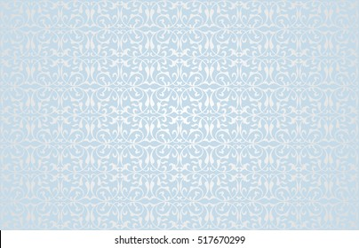 Beautiful blue Christmas pattern