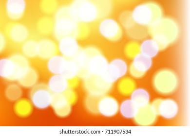Beautiful blurred colorful circles