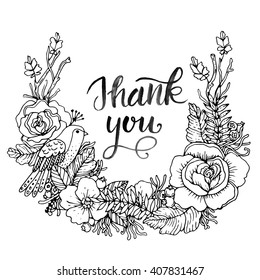 Thank You Coloring Page Images, Stock Photos & Vectors | Shutterstock