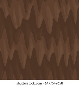 Beautiful brown seamless pattern with vector mud texture
