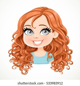Curly Hair Cartoon Images Stock Photos Vectors Shutterstock