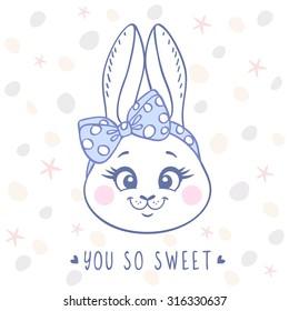 Custom Made T Shirt Adorable Bunny Rabbits Kissing Hearts Cartoon Cute Sweet