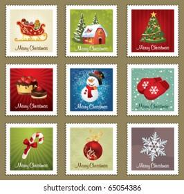 Beautiful Collections of Christmas Postmarks.