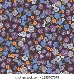 Beautiful colorful flowers with black background The best designs of the year