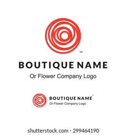 Rose Logo Images Stock Photos Vectors Shutterstock