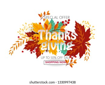Beautiful and creative vector illustration of thanksgiving- Vector