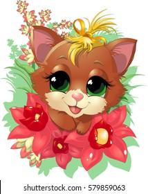 beautiful cute kitten