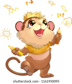 beautiful cute monkey