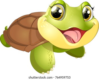 beautiful cute turtler
