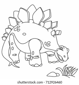 beautiful dinosaur, funny, little dinosaur, kind, kids, coloring, paint, development