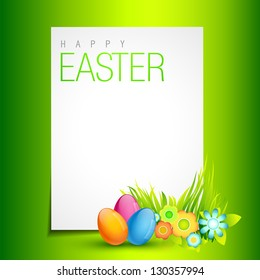 beautiful easter design with space for your text