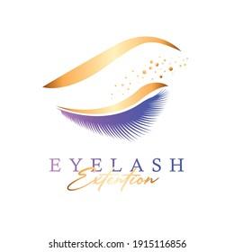 beautiful eyelash extention template design