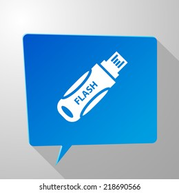 Beautiful Flash Drive web icon