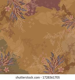 Beautiful Floral Scarf Design 11