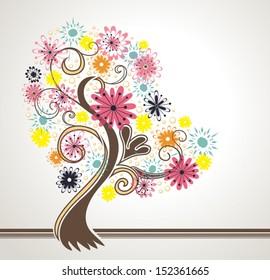 Beautiful flowering tree.