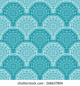 Beautiful geometric seamless pattern. Can be used for textiles, wallpaper, surfaces, site design, and as a background for cards and invitations