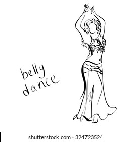 Dancer Sketch Images Stock Photos Vectors Shutterstock
