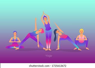 beautiful girl is doing yoga, sitting in sukhasana easy pose. sitting position for yoga and meditation. isolated on white background