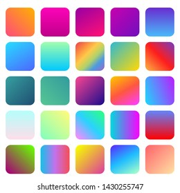 beautiful gradient color for design