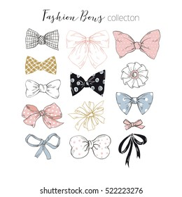 beautiful graphic bows collection