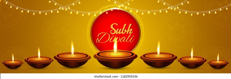Beautiful greeting card for  Diwali  festival. Happy Diwali festival sale banner & background illustration. Diwali illustration for Diwali festival celebration in India..