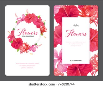 Hibiscus Template Images Stock Photos Vectors Shutterstock