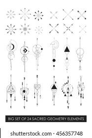 Beautiful high quality sacred geometry profitable pack. Geometric minimalism.