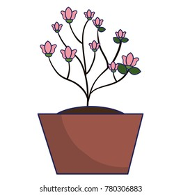 beautiful house plant icon