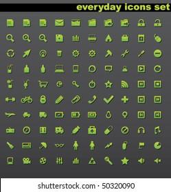 Beautiful icons set