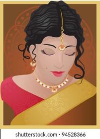 Beautiful Indian Woman/Bride