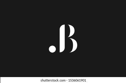 Beautiful JB letter logo vector design