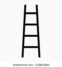 Beautiful ladder vector icon