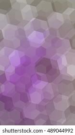 beautiful light purple geometry background. vector illustration. polygonal pattern. design for banner, presentation, wallpaper.