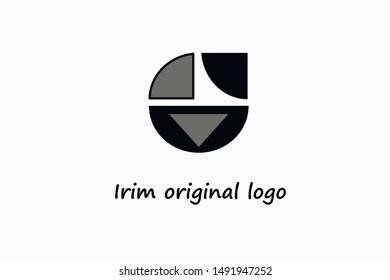 Beautiful Logotype design for luxury company branding. Elegant identity design. Abstract emblem, design concept, logo, logotype element for template.