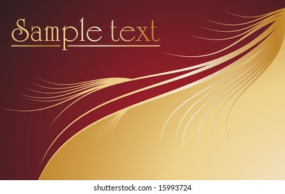 Beautiful luxurious background vector