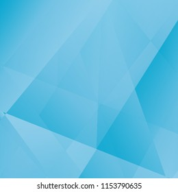 Beautiful luxury background, blue sky great design. Vector polygon abstract polygonal geometric triangle background. Diamond blue jewelry. Low poly illustration. Abstract geometric polygonal fractal.