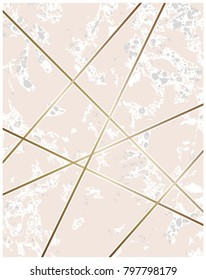 Beautiful marble texture, ebru, liquid paint and gold lines background.