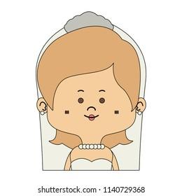 Beautiful midget bride cartoon