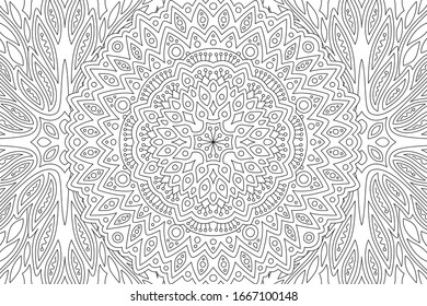 Detailed Coloring Pages High Res Stock Images Shutterstock