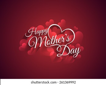 Beautiful mother's day Background design.