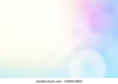 beautiful natural style of life. sunrise glitter lens flare, soft bokeh nature background, illustration light pastel sweet color filter abstract simplicity for advertising products background.