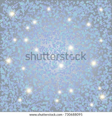 beautiful new year background with particles new year background with white and blue snow specks