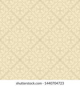Beautiful pattern for design. Floral ornament on background. Vector design illustration. Vector illustration