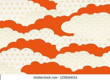 A beautiful pattern of Japan