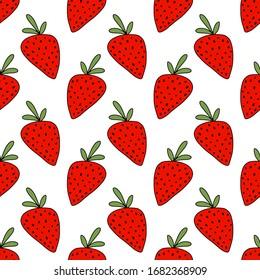 Strawberry Cartoon Stock Vectors Images Vector Art Shutterstock
