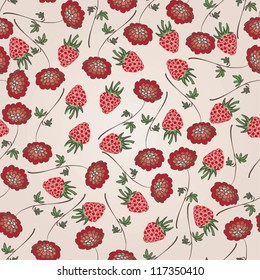 Beautiful seamless pattern / Seamless pattern can be used for wallpaper, pattern fills, web page background, surface textures, textiles, wrapping paper.
